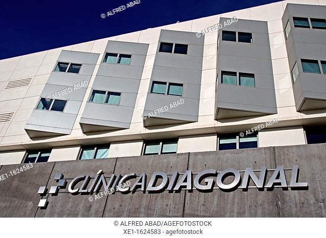 Diagonal clinic, Esplugues de Llobregat, Catalonia, Spain