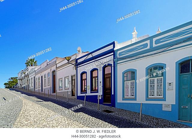 Street view, houses, typically, Lagos Portugal