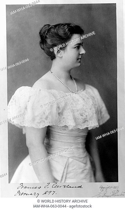 Frances Folsom Cleveland Stock Photos And Images Agefotostock