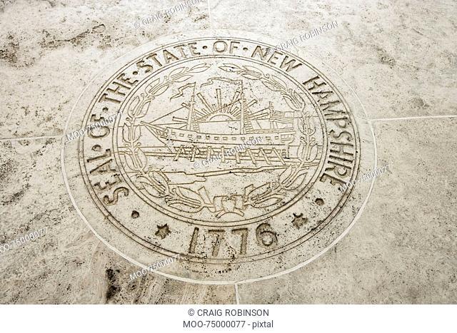 Seal of New Hampshire in Fort Bonifacio, Manila, Philippines