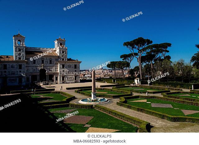 Europe, Italy, Lazio, Rome. Villa Medici