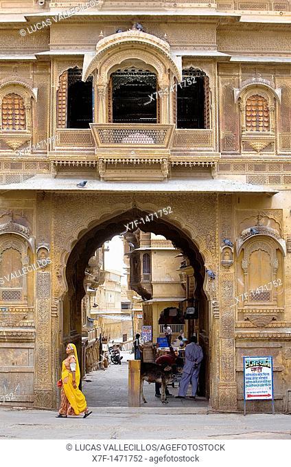Patwa ki haveli, Jaisalmer, Rajasthan, India