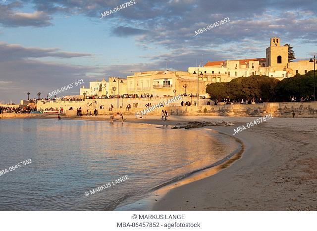 Old Town of Otranto, province of Lecce, Peninsula of Salento, Apulia, Italy