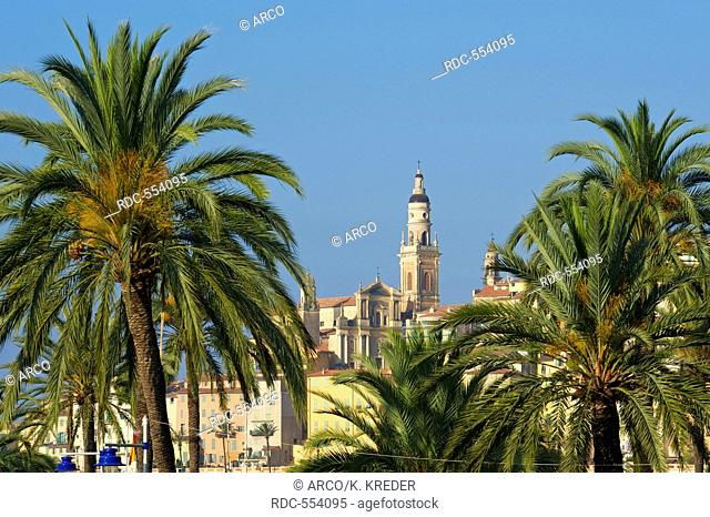 Menton, Cote d?Azur, France