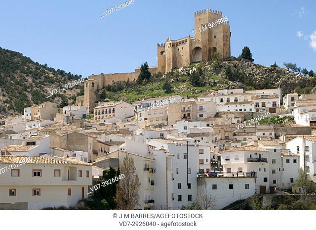 Velez Blanco, castle (XVI century) and town. Almeria province, Andalucia, Spain
