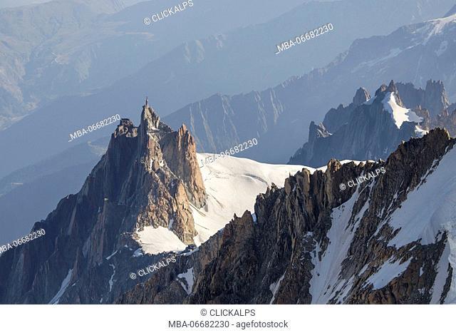 Aiguille du Midi - Mount Blanc group - Chamonix - France