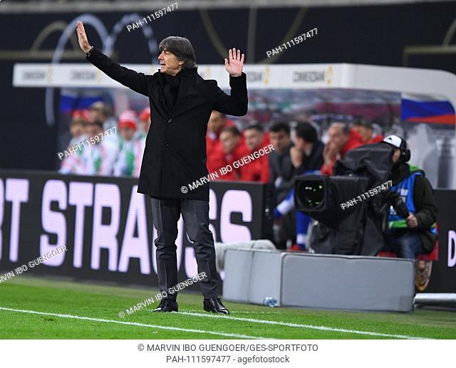 Bundescoach Joachim Loew from Germany GES / Football / Friendlies: Germany - Russia, 15.11.2018 Football / Soccer: Friendly match: Germany vs Russia, Leipzig