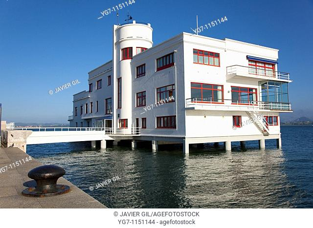 Sailor club of Santander, Cantabria, Spain