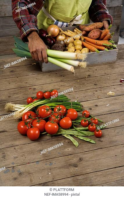Fresh vegetables Sweden