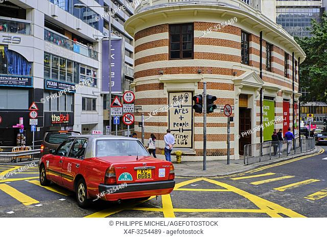Chine, Hong Kong, Hong Kong Island, quartier branché de Soho, Hollywood road / China, Hong Kong, Hong Kong Island, Soho in Hollywood road
