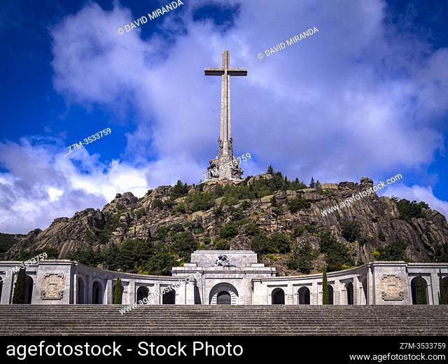 Valle de los Caídos. San Lorenzo de El Escorial. Madrid. España