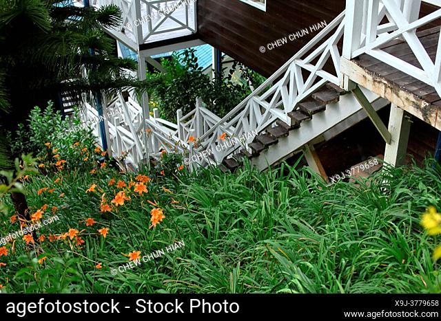 Kundasan pine resort banglo, kundasan, sabah, malaysia