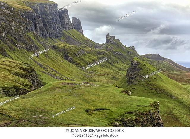 Quiraing, Isle of Skye, Scotland, United Kingdom