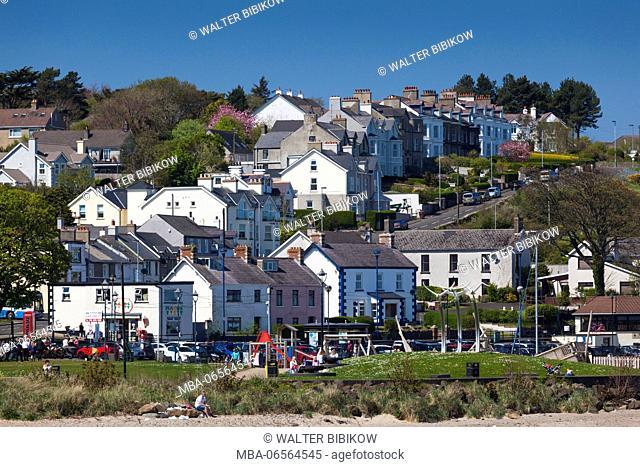 UK, Northern Ireland, County Antrim, Ballycastle, town view