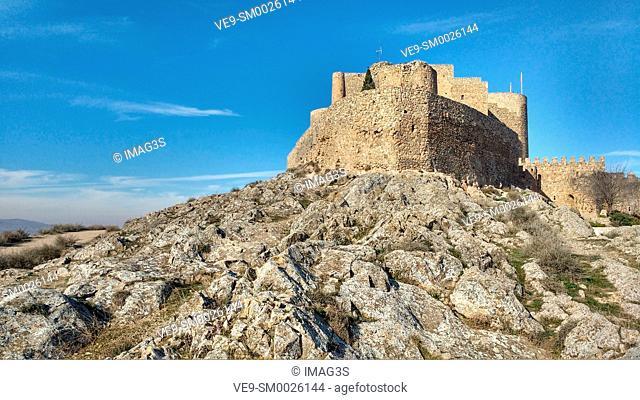 Castle of the Knights of St. John of Jerusalem, Consuegra, Toledo province, Route of Don Quixote, Castilla-La Mancha, Spain, Europe