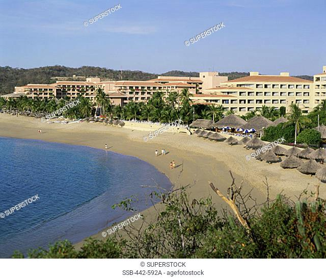 Tangolunda Beach Huatulco Mexico