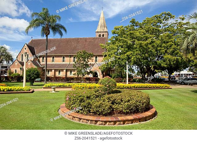 Christ Church, Anglican Church, Bundaberg, Queensland, Australia