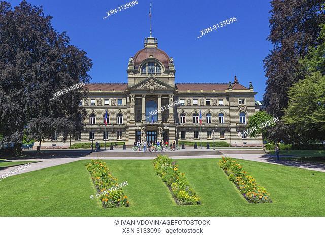 Palais du Rhin, Kaiserpalast (1889), Strasbourg, Alsace, France