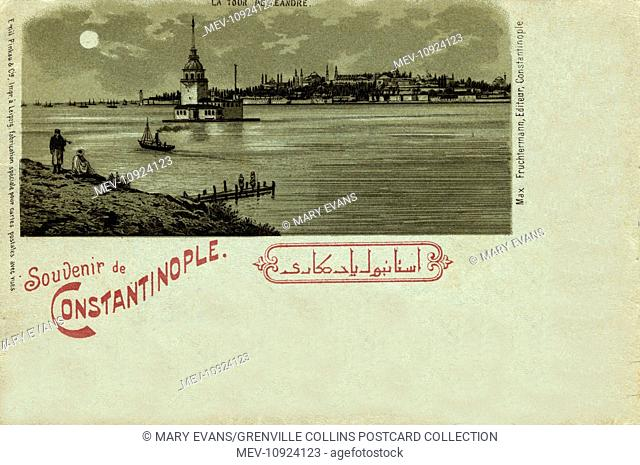 Leander's Tower and Seraglio Point, Istanbul, Turkey