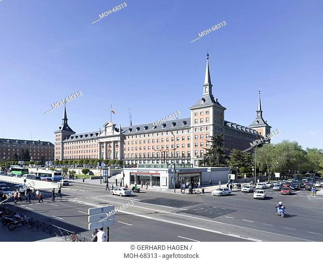 Madrid, Ejercito del Aire, Luftwaffe Hauptquartier