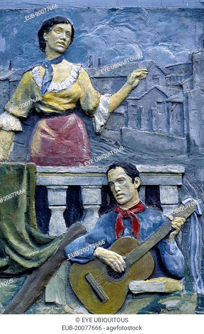 Tableau of a serenade