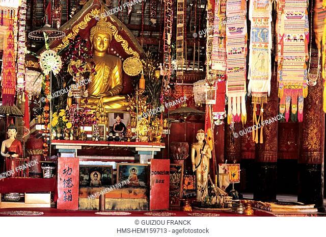 China, Yunnan province, Xishuangbanna region, Jingzhen, the Octagonal Pavilion