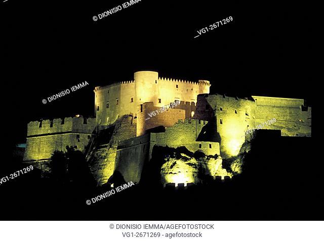 Norman Castle, Santa Severina, District of Crotone, Calabria, Italy, Europe