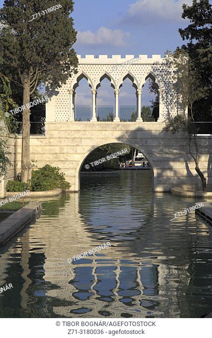 Azerbaijan, Baku, Mini Venice,