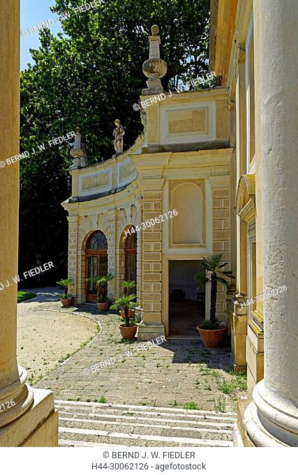 Europe, Italy, Veneto Veneto, Stra, via doge Alvise Pisani, Museo Nazionale Tu villa Pisani, park, Scuderie, riding stables, architecture, historically