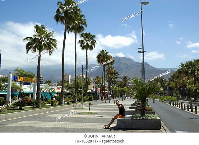 Avenue Rafael Puig Tenerife - Playa de las Americas