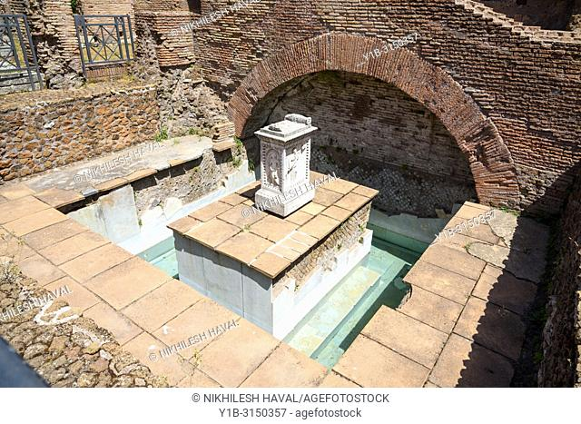 Lacus Juturnae, Rome, Italy