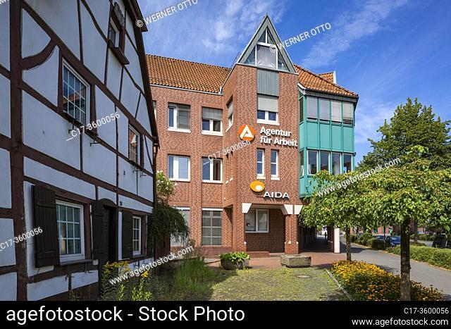Dorsten, D-Dorsten, Lippe, Ruhr area, Hohe Mark Westmuensterland Nature Park, Muensterland, Westphalia, North Rhine-Westphalia, NRW, Seidemann House