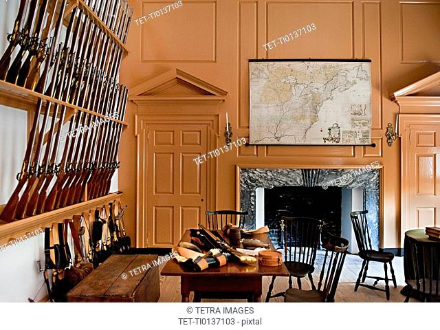 Independence Hall Armory Room