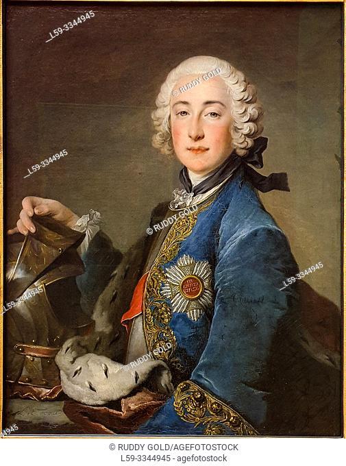 'Count Palatine Friedrich Michael of Zweibrücken-Birkenfeld', 1745, Louis Tocqué (1696-1772)