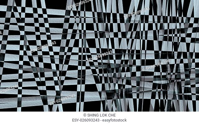 Abstract background of black and white pattern