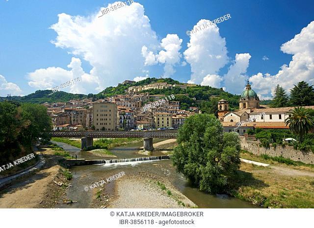 Townscape of Cosenza, Calabria, Italy