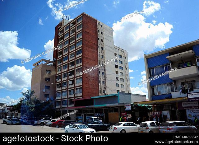Buildings in the city of Bulawayo in Zimbabwe, taken on February 19, 2020   usage worldwide. - /Simbabwe
