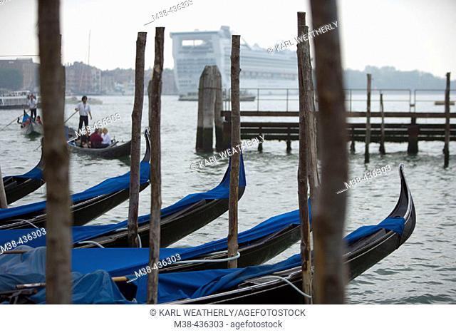 Gondolas. Venice, Italy