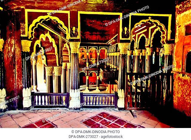 Tipu Sultan palace, Bangalore, Bengaluru, Karnataka, India, Asia