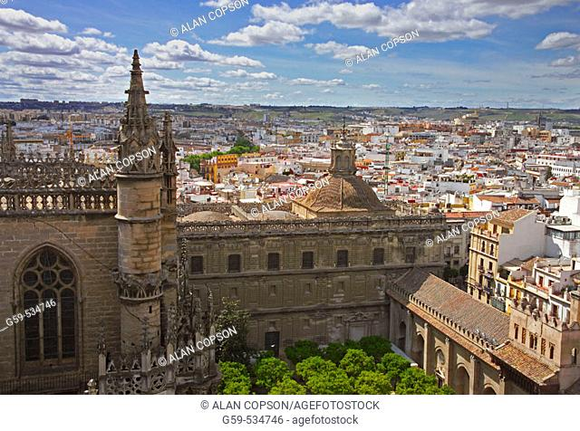 Spain, Andalusia, Seville, Cathedral