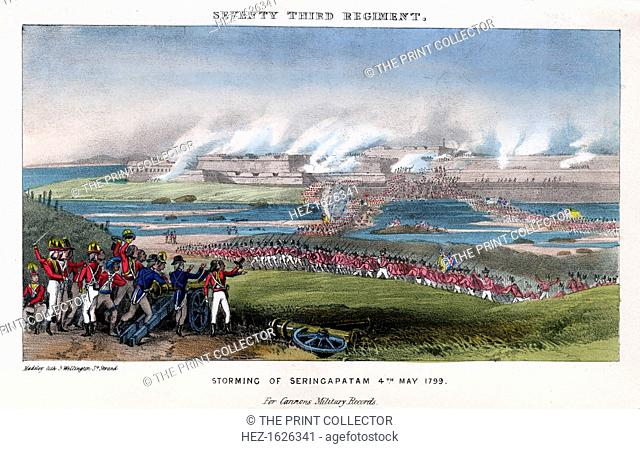 Seventy-third Regiment, Storming of Seringapatam, India, 4th May 1799. In the Fourth Anglo-Mysore War in 1799, the Battle of Seringapatam was the final...