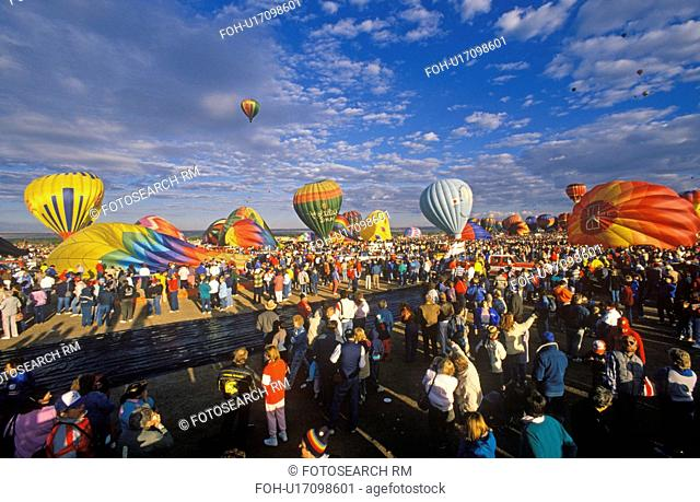 Balloons take to the air