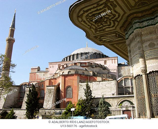 Aya Sofya Basilica Istanbul Turkey