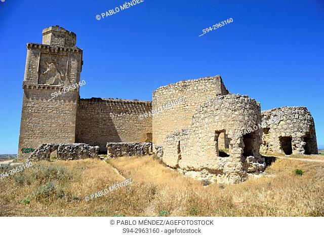 Castle of the Silva or castle of Barcience, Toledo, Spain