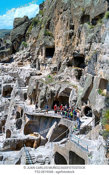 Vardzia Cave Town, Samtskhe-Javakheti Region, Georgia, Middle East