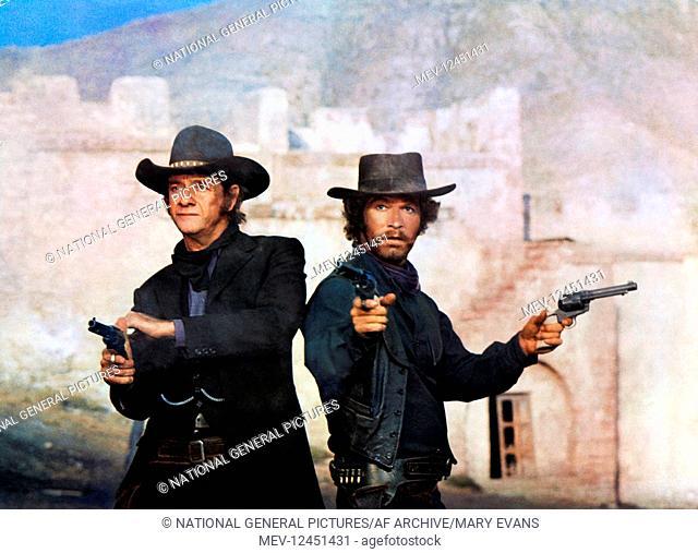 Richard Crenna & Stephen Boyd Characters: Noon & Rimes Film: The Man Called Noon; Un Hombre Llamado Noon; Lo Chiamavano Mezzogiorno (1973) Director: Peter...