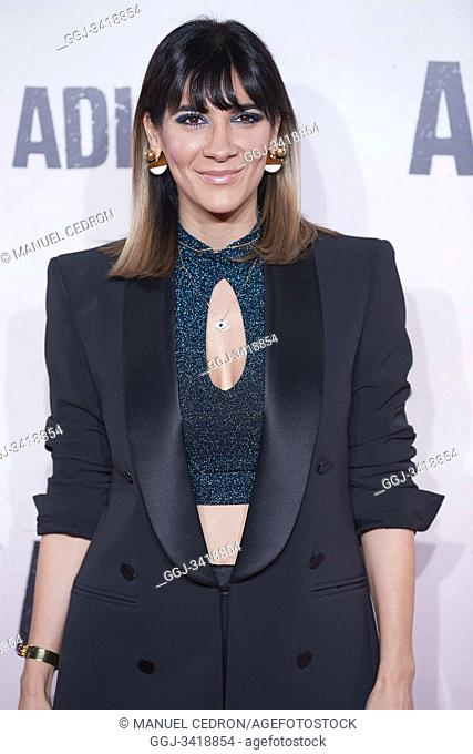 Cecilia Gessa attends 'Adios' premiere at Capitol Cinema on November 19, 2019 in Madrid, Spain