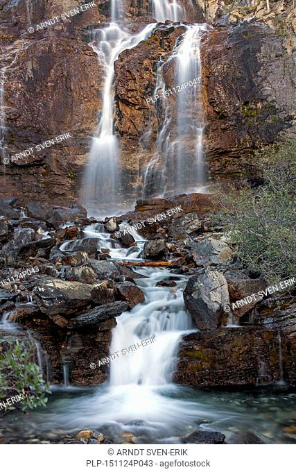 Tangle Creek Falls, Jasper National Park, Alberta, Canadian Rockies, Canada