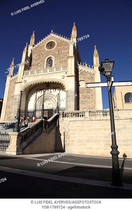 Church of the Jeronimos, Madrid, Spain, Europe