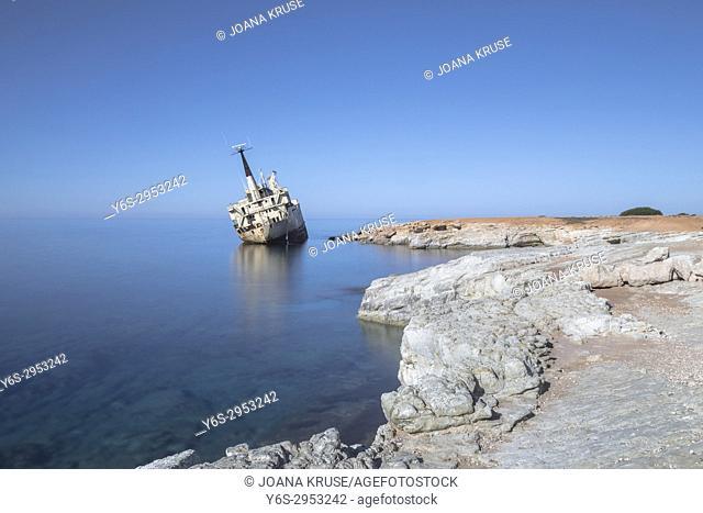 Edro III shipwreck, Pegeia, Paphos, Cyprus